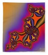 Abstract 54 Fleece Blanket