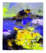 Abstract 55442233 Fleece Blanket
