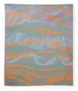 Abstract 6 Fleece Blanket