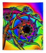 Abstract 65 Fleece Blanket