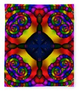Abstract 650 Fleece Blanket