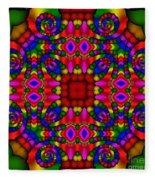 Abstract 652 Fleece Blanket