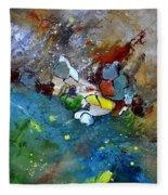 Abstract 66018002 Fleece Blanket