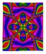 Abstract 663 Fleece Blanket