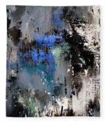 Abstract 69 54525 Fleece Blanket