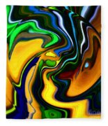 Abstract 7-10-09 Fleece Blanket