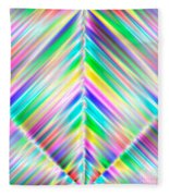Abstract 700 Fleece Blanket