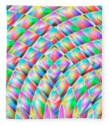Abstract 713 Fleece Blanket