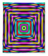 Abstract 727 Fleece Blanket