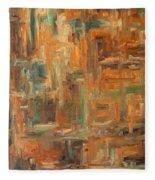 Abstract 751 Fleece Blanket