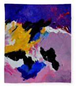 Abstract 760170 Fleece Blanket