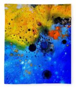 Abstract 767b Fleece Blanket