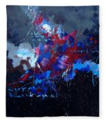 Abstract 77902171 Fleece Blanket