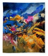 Abstract 7808082 Fleece Blanket