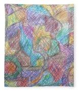 Abstract 801 Fleece Blanket
