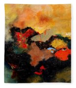 Abstract 8080 Fleece Blanket
