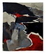 Abstract 881110 Fleece Blanket