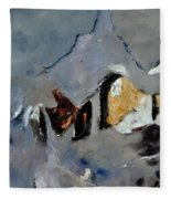 Abstract 88112012 Fleece Blanket