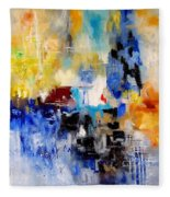 Abstract  905003 Fleece Blanket