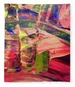 Abstract 9096 Fleece Blanket