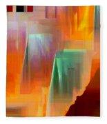 Abstract 9364 Fleece Blanket