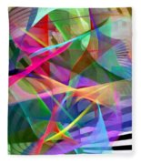 Abstract 9488 Fleece Blanket