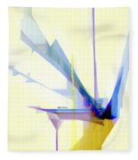 Abstract 9503-001 Fleece Blanket