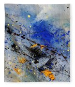 Abstract 969090 Fleece Blanket