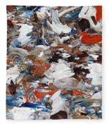 Abstract 971 Fleece Blanket