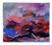 Abstract 971260 Fleece Blanket