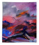 Abstract 971260 Fleece Blanket