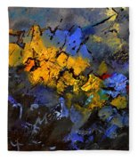 Abstract 972 Fleece Blanket