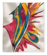 Abstract Art 102 Fleece Blanket