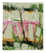 Abstract Art Fifty-six Fleece Blanket