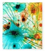 Abstract Art - Possibilities - Sharon Cummings Fleece Blanket
