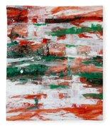 Abstract Art Project #24 Fleece Blanket