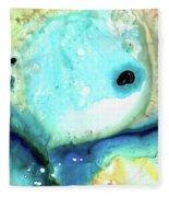 Abstract Art - Holding On - Sharon Cummings Fleece Blanket