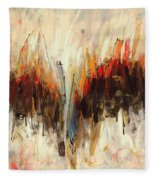 Abstract Art Twenty-one Fleece Blanket