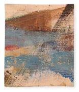 Abstract At Sea 2 Fleece Blanket