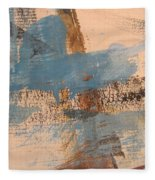 Abstract At Sea 4 Fleece Blanket