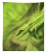 Abstract Aurora Fleece Blanket