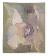 Abstract Aviary Fleece Blanket