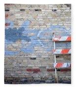 Abstract Brick 2 Fleece Blanket