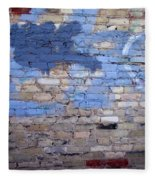 Abstract Brick 3 Fleece Blanket