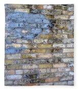 Abstract Brick 6 Fleece Blanket