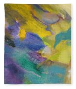 Abstract Close Up 13 Fleece Blanket