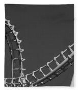 Abstract Coaster Panoramic Fleece Blanket