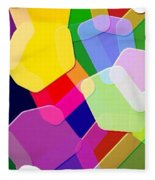 Abstract Collection 011 Fleece Blanket
