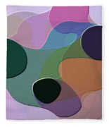 Abstract Collection 018 Fleece Blanket