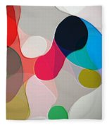 Abstract Collection 020 Fleece Blanket